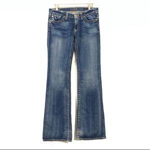 Big Star Sweet Flare Medium Wash Jeans Long